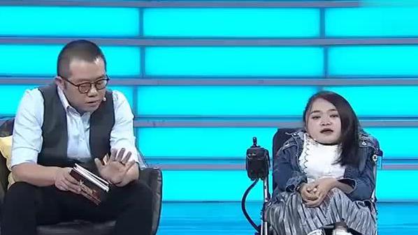 瓷娃娃女孩和涂磊现场尬聊引哄笑不断,涂磊:你就怼我吧!