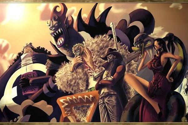海贼王:黑胡子假如真的亲自去抓捕七武海,谁能够平安无事?