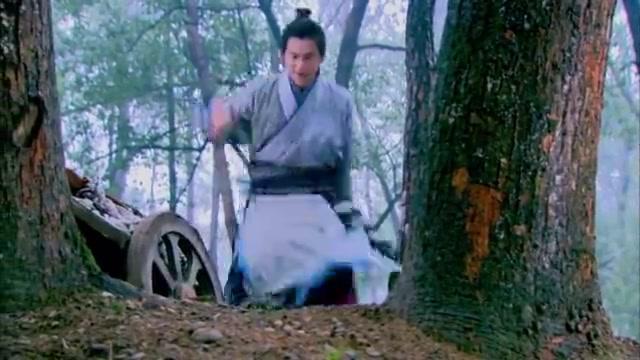 少年杨家将:彭于晏布陷阱抓肥猪,肥猪没抓到,却碰见山贼嫁女