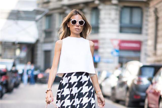 春夏裙子别乱穿!身高决定裙子的长度,不足155cm的女生适合第3种