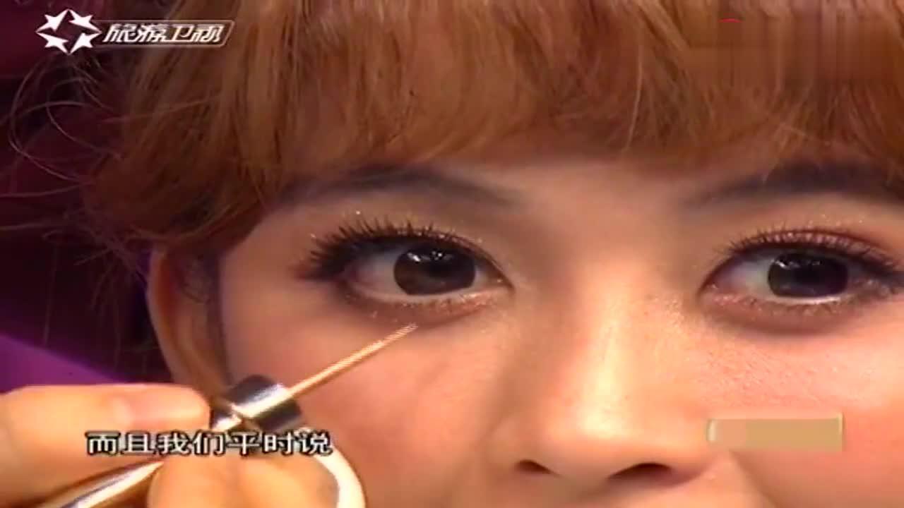 闪耀眼妆应该怎么画(二):眼线液还可以这样用,领教了