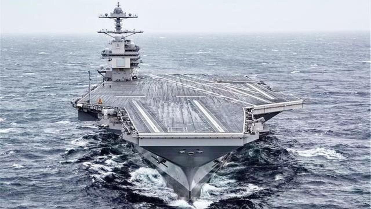 """同样是海试,为何中国这么顺利?福特号成美军心病,或需""""中医"""""""