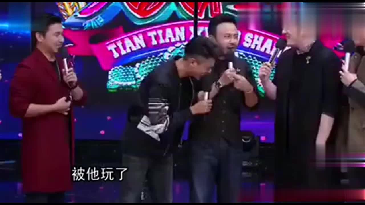 陈坤节目中调侃杨乐乐 汪涵卡机了没反应过来
