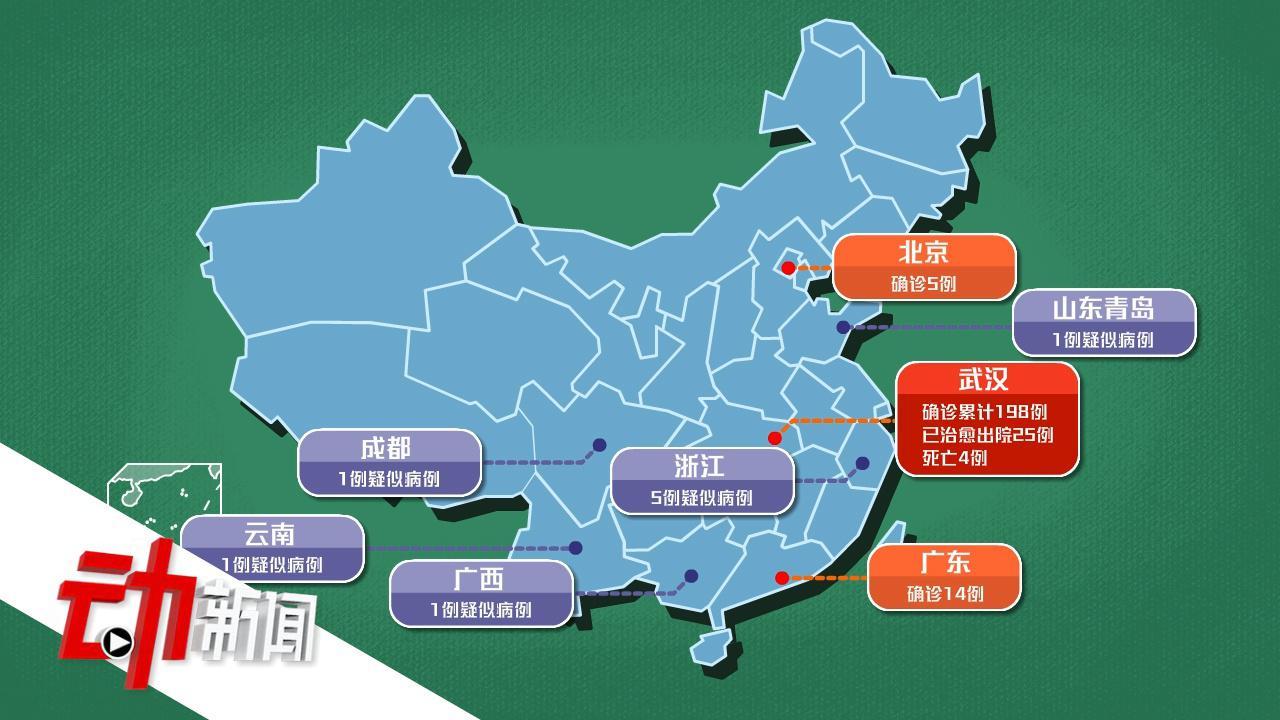 全球5国13城市出现新型肺炎病例 如何判断自己是否被感染?