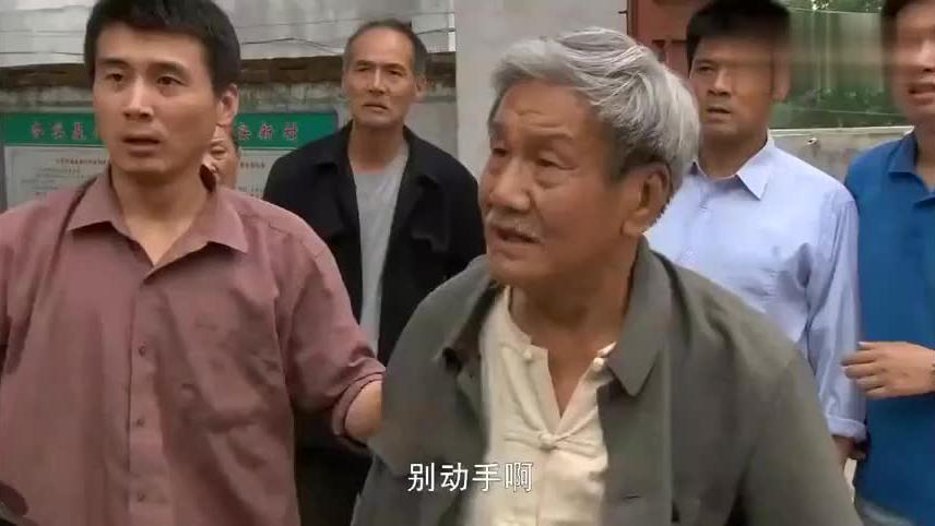 恶霸欺负村里老人退伍军人看不下去了一脚下去教他做人