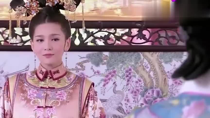 后宫里边公主的身份照样被贵妃嫌弃看到她失礼冷嘲热讽