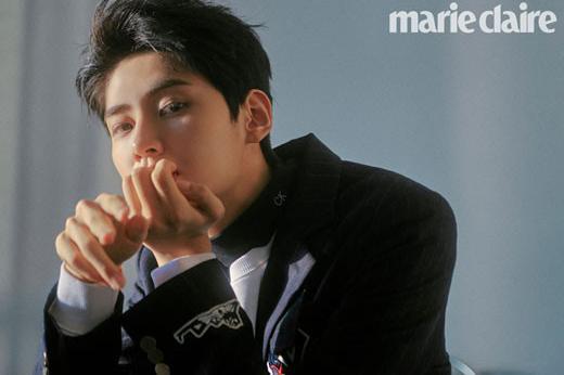 韩国男团UP10TION成员李镇赫最新杂志写真曝光
