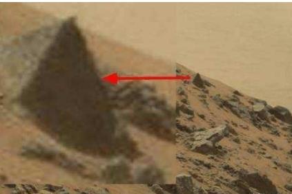 """卫星探测发现金星上存在两万座""""金字塔""""形城市遗迹"""