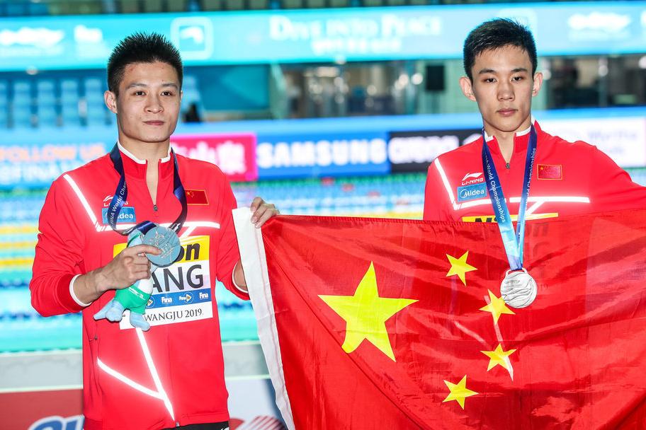 跳水伦敦站10米台杨昊和练俊杰揽冠亚
