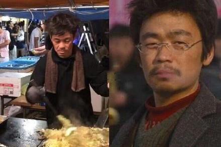 日本炒面大叔撞脸王宝强,网友:以为是本尊在拍戏呢!