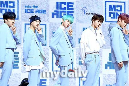 韩国男团MCND首尔举行出道发布会