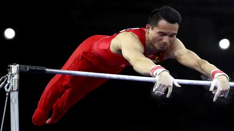 体操世锦赛资格赛:中国队获团体第二 肖若腾孙炜进全能决赛