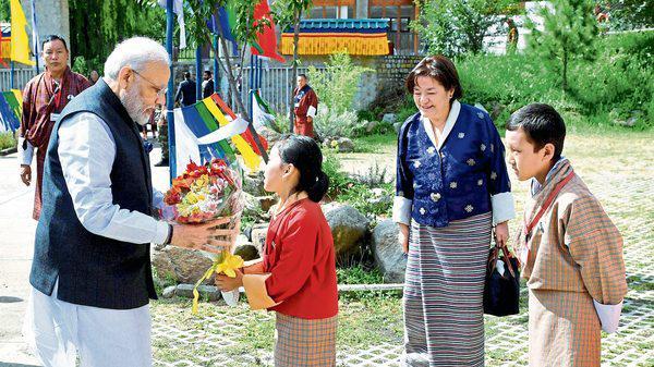莫迪连任后首访不丹,共签10项谅解备忘录