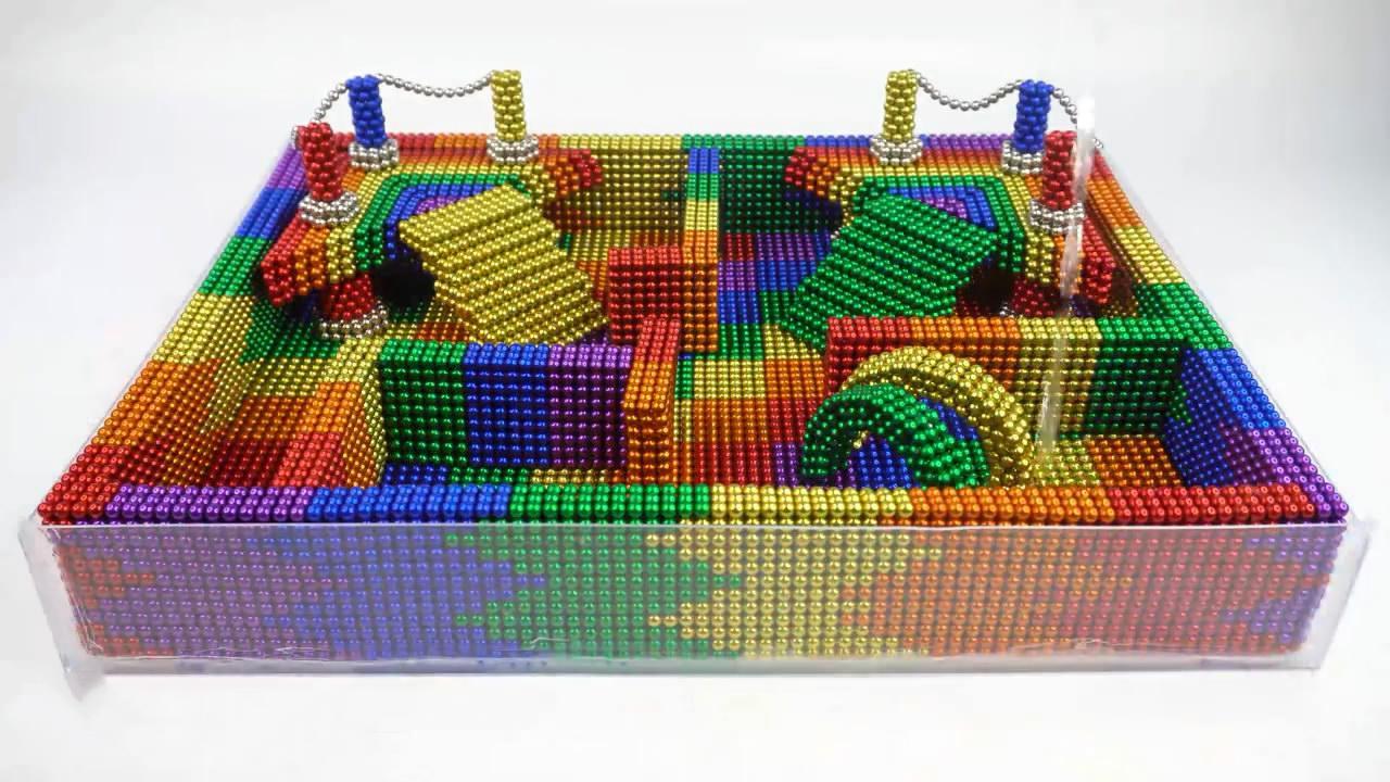 磁球模型DIY,小型水池的搭建方法,非常有创意!