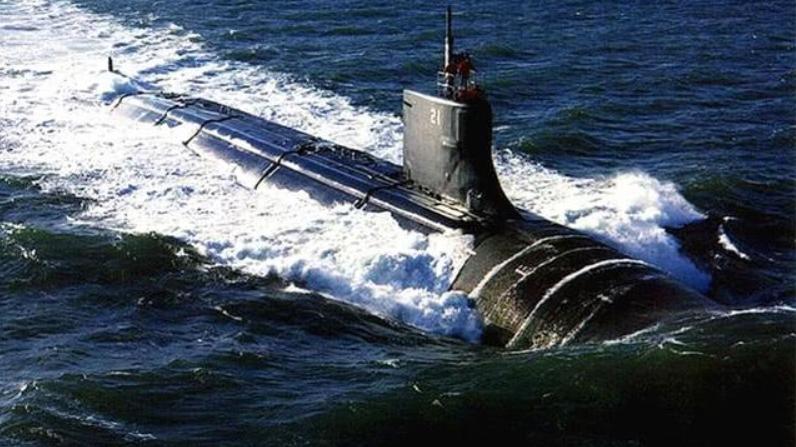 中美俄核潜艇噪音对比,美国95分贝,俄110分贝,那中国又是多少