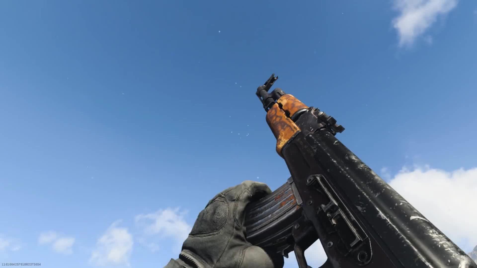 游戏里的手枪、步枪、冲锋枪射击演示,不管是画面声音,都很真实