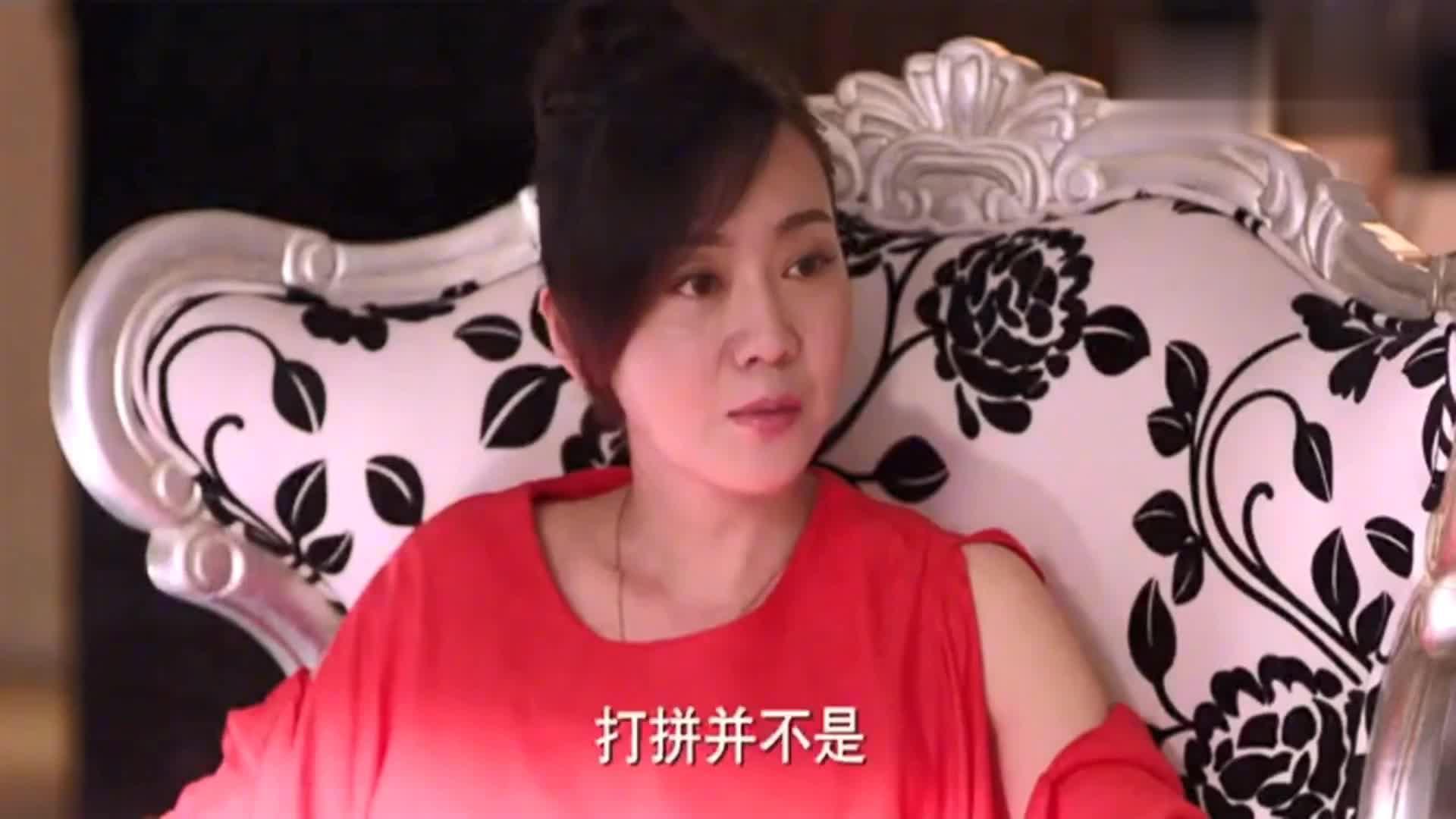 前妻以钱压人争夺女儿,闫妮霸气出手,啪啪打脸胖女人!