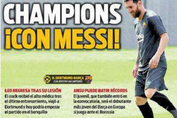临阵复出?梅西入选巴萨欧冠大名单