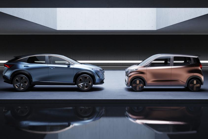 展示未来理念,日产全新电动概念车亮相东京车展