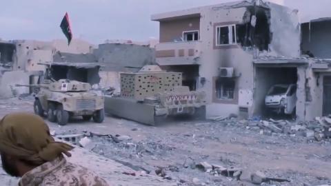 哈夫塔尔战况不利,俄雇佣兵被打死几十人,破解手机发现大量视频