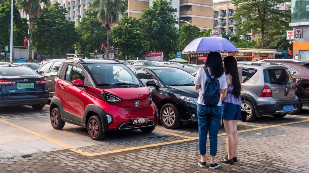 和你吃遍广州城差的可能就是一台宝骏E100汽车Vlog