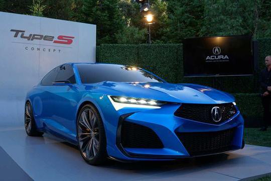 讴歌新款概念车亮相圆石滩车展,未来设计方向曝光,令人非常期待