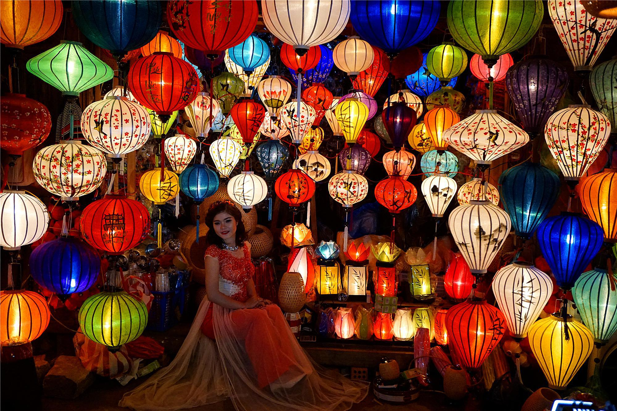 越南版丽江有一个灯笼夜市,逛夜市犹如走进童话梦幻世界