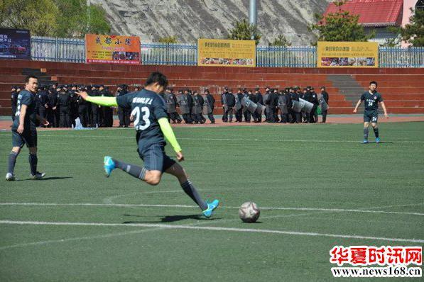陕西省群众足球乙级联赛暨德力森杯第四届神木市足球联赛盛大开幕