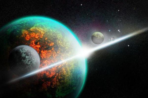 为什么宇宙中的星球,都悬浮在空中?