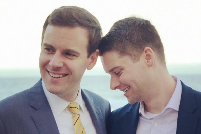 一对保守派同性伴侣结婚之后,LGBT有话要说