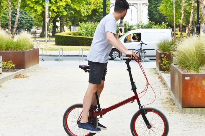 StepTwin Bike,首款带有双独立仿生驱动器 的自行车