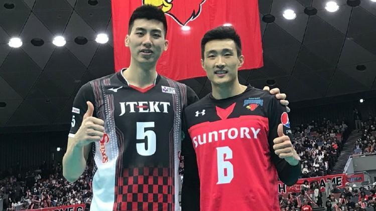 中国队员终极德比战!捷太格特3:1三得利挺进日本男排联赛决赛!