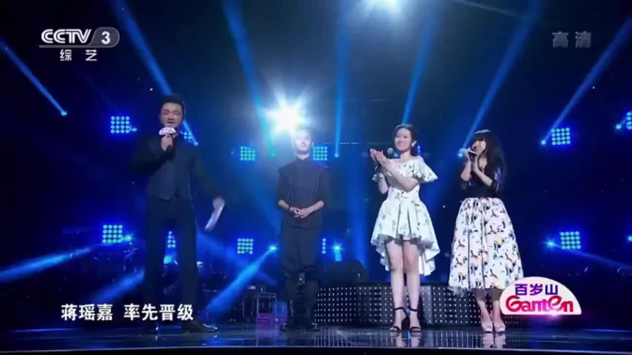 完美星开幕两位小姐姐清唱比赛,那英组的萱萱歌声更清亮,喜欢
