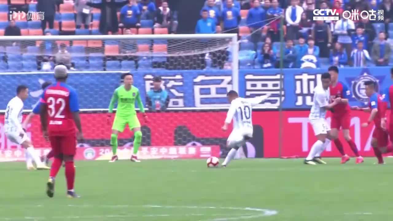 2019广州富力全进球:轰54球排第6  扎哈维29球破纪录