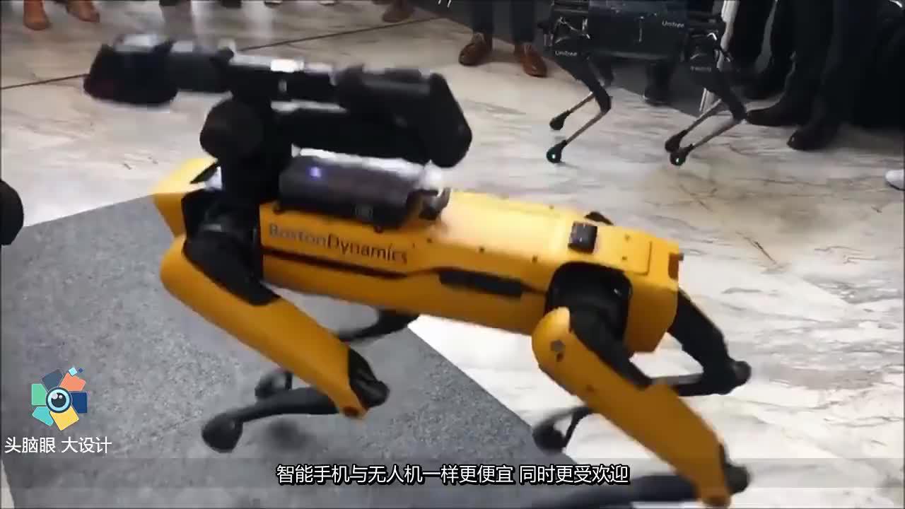 中国90后大学生发明四足机器人波士顿机械狗从此有了克星