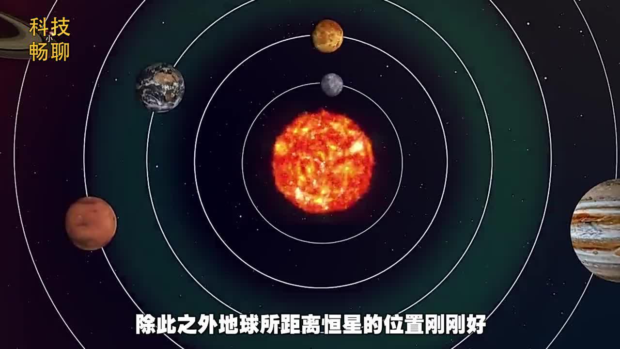 地球的位置都是安排好的科学家看看木星和月球就知道了