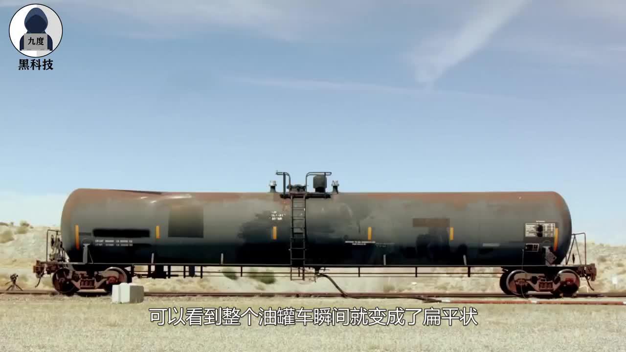 大气的压强到底有多大将油罐车抽成真空状态看罐子下场就知道