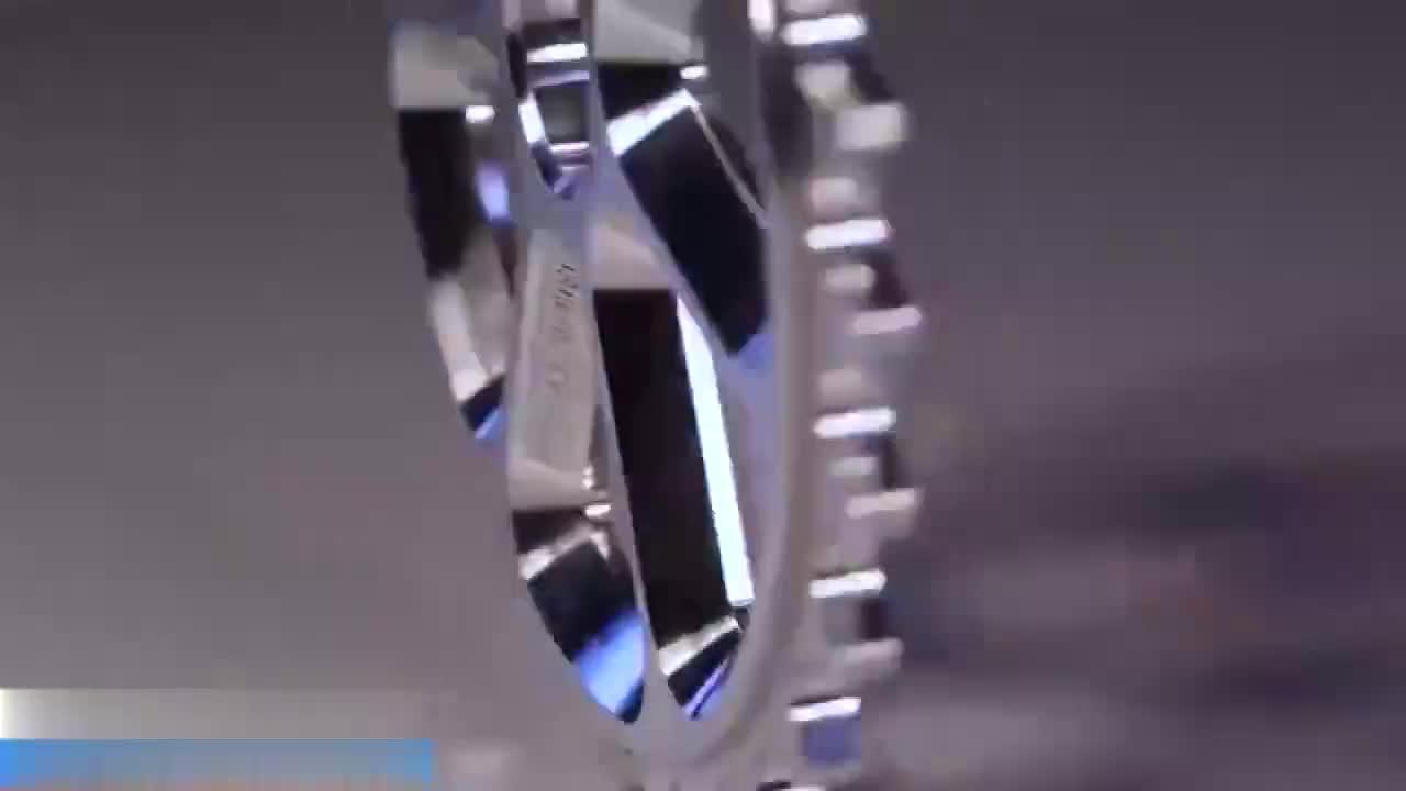实拍德国制造的5轴数控机床加工过程不愧是世界最先进的