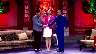 """王婧蕊、邵霖演绎爆笑小品""""帮你忙"""",台词经典笑点百出"""