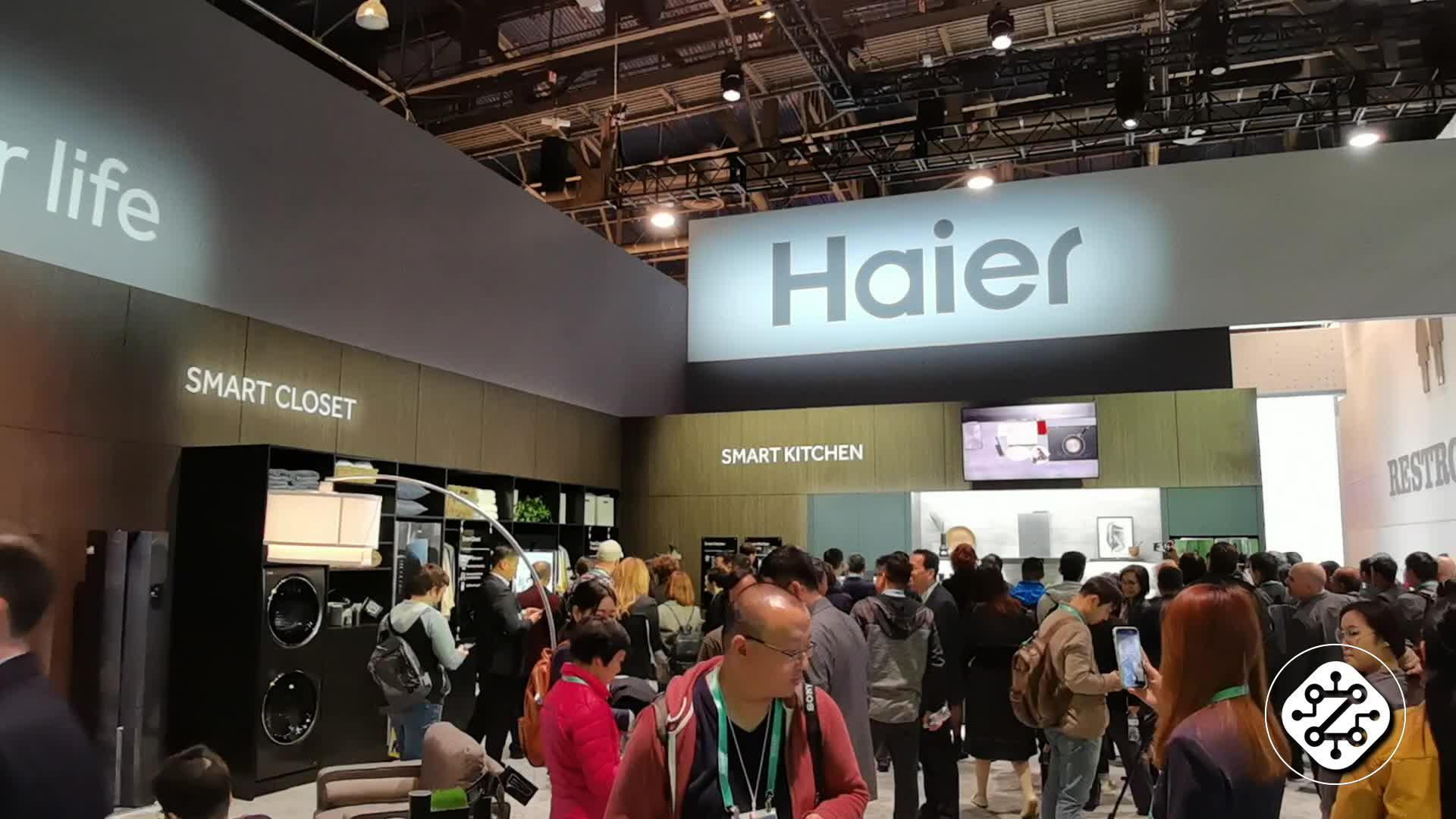 海尔亮相CES 2020 智慧家庭解决方案吸引众多商家观众体验