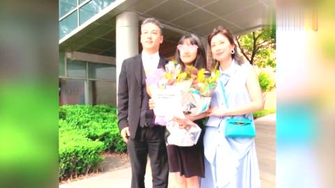 最好毕业礼 贾静雯出席女儿毕业典礼与前夫同框