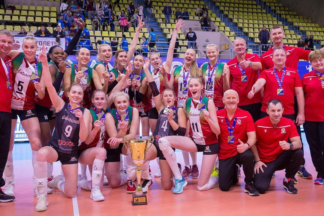 俄罗斯女排超级杯二年级生加里宁格勒火车头掀翻豪门莫斯科迪纳摩