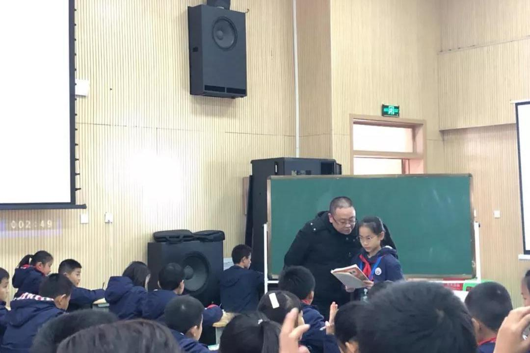 自贡衡川 四川省优秀教师、省小学语文骨干教师刘学平来校交流