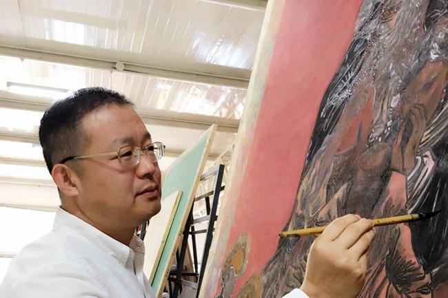 艺术名家——王晓光的中国画创作