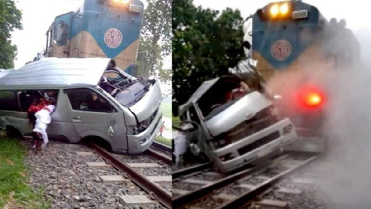 喜事成丧事!火车撞烂结婚礼车致新郎新娘在内11人惨死