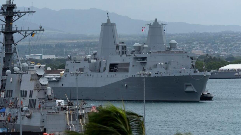 美军登陆舰离开基地,出海测试激光武器,可打击小型船只和无人机