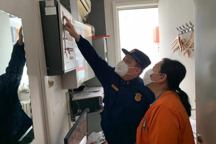 天津市开展疫情防控期间专项消防宣传活动