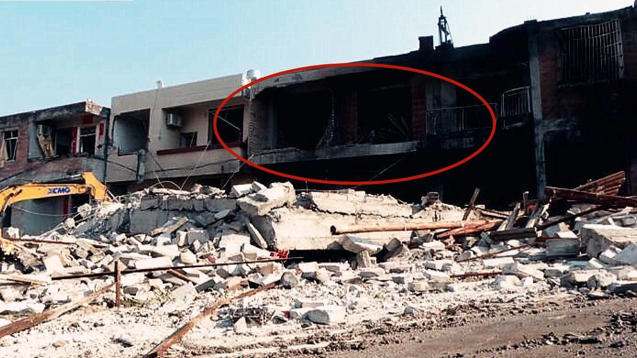 广西岑溪市一民房凌晨发生燃爆 造成楼房坍塌7人受伤