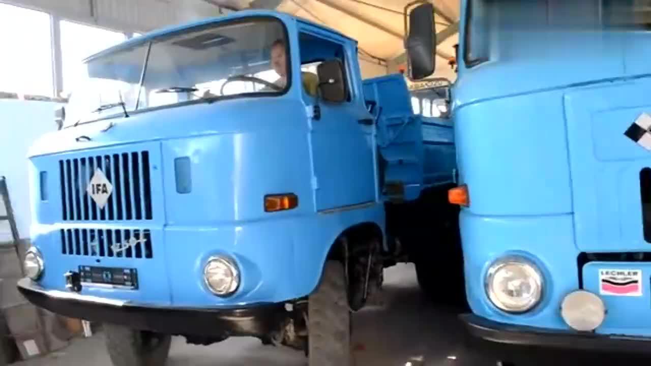 东德依发IFA W50载重车我想开过它的都是老司机了