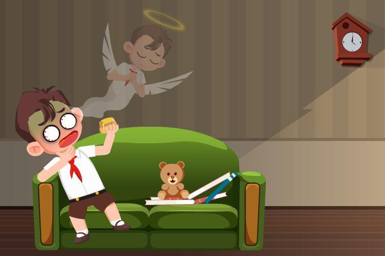 孩子进食要预防啥意外?如何为噎住的孩子急救?